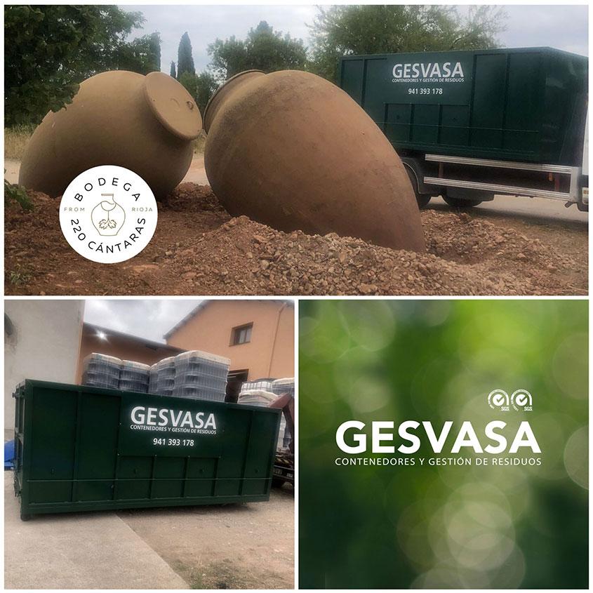 Imagen bodega 220 Cántaras y Gesvasa gestión residuos