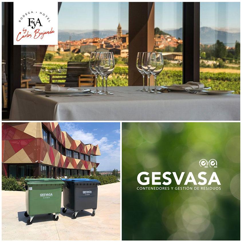 Imagen nuevo cliente Bodegas FyA Gesvasa gestión de residuos en La Rioja