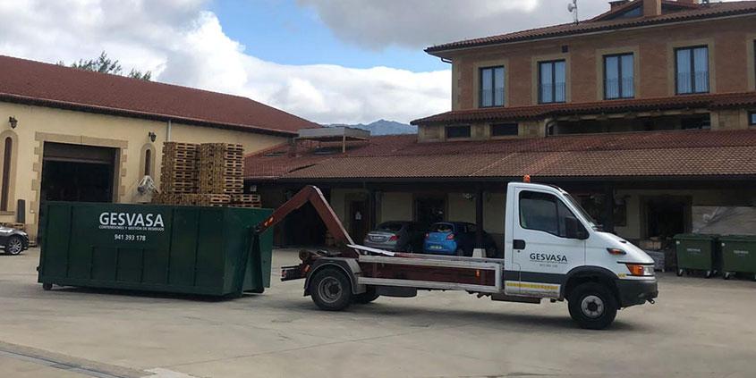 Foto bodegas Luis Cañas Reciclaje gestión residuos