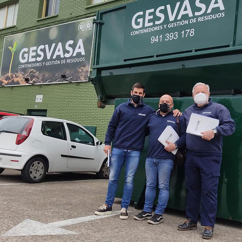 Imagen conmemorativa del día de La Rioja en Gesvasa