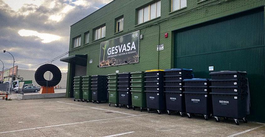 Imagen nave Gesvasa con nuevos contenedores